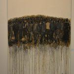 DIE ANTWORT / Ángel Barroso Crespo / Kaffe, Kohle und Acryl auf Leinwand