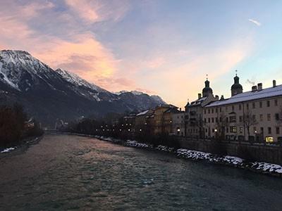 Innsbruck während der ART Innsbruck im Januar 2016