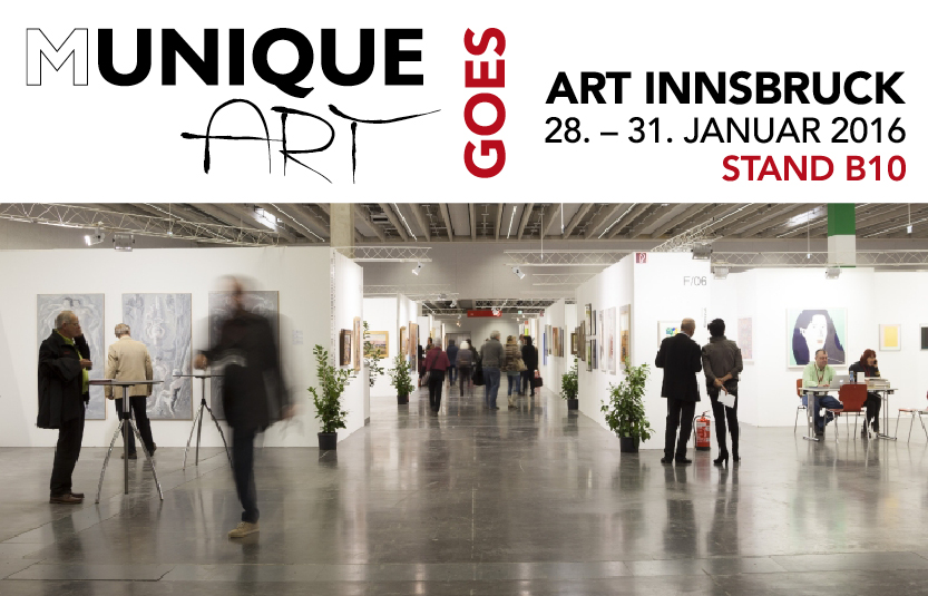 MuniqueART auf der ART Innsbruck 2016