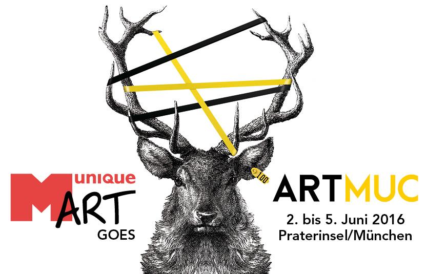 MuniqueART präsentiert sechs Künstler auf der ARTMUC im Juni in München