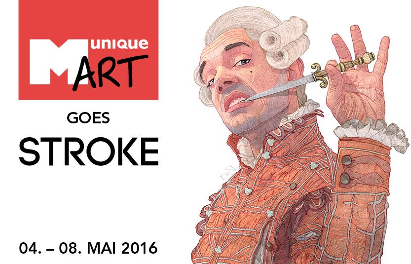 MuniqueART präsentiert auf der Stroke 2016