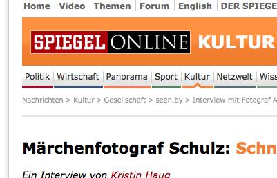 Andy Schulz bei MuniqueART und bei Spiegel Online